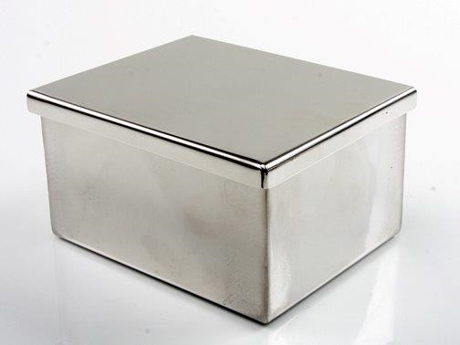 Stainless Steel Dish with Cover (for 30 Slide Holder)