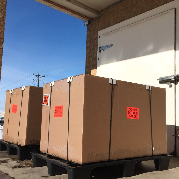 Loading Dock Unlabelled Boxes